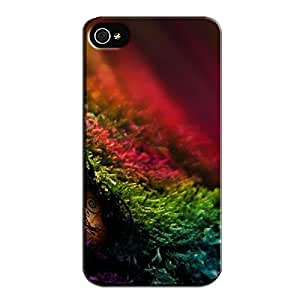 TPU Photography World Eye For Iphone 4s Tear-resistant Black Protective Case