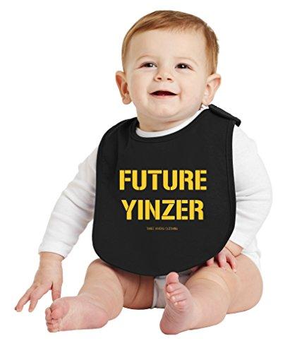 (Three Rivers Clothing Pittsburgh Future Yinzer Baby Bib )