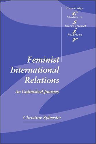 Amazon com: Feminist International Relations: An Unfinished Journey
