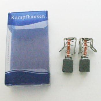Kohlebürsten für Bosch WAS24360 WAS24442 5x12,5x42mm Gerätetyp beachten