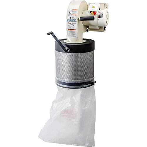 Grizzly Industrial G0785-1 HP Wall-Mount Dust Collector with Canister Filter