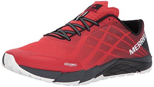 Homme Merrell Risk Bare Red Fitness Flex Access Rouge Chaussures High de YTTSx64wq