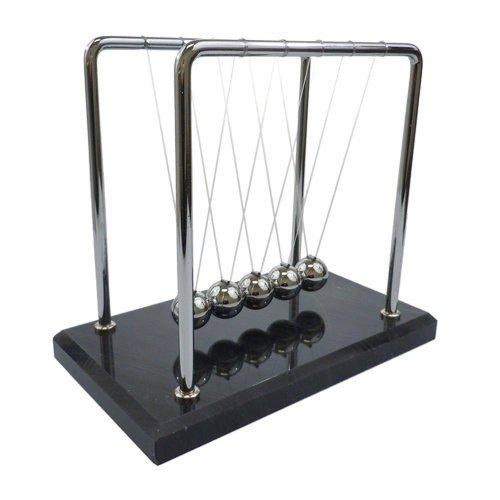 Newton's Cradle - 7 inch, Marble Base by MINYA