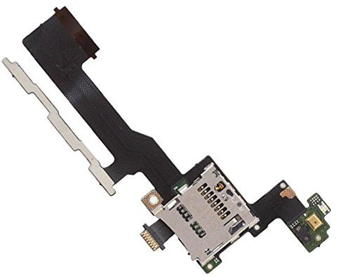 Power Volume Button (By Walking Slow-Replacement for HTC One M9 Power On Off Volume Button Switch Flex Cable With SD Card Reader & Volume Power Button Flex Part)