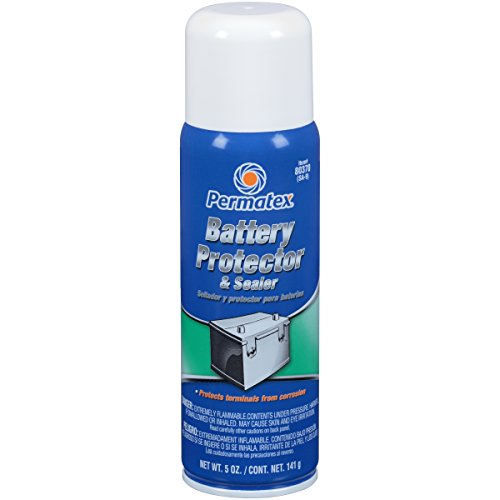 Permatex 80370-12PK Battery Protector and Sealer, 6 oz. Aerosol Can