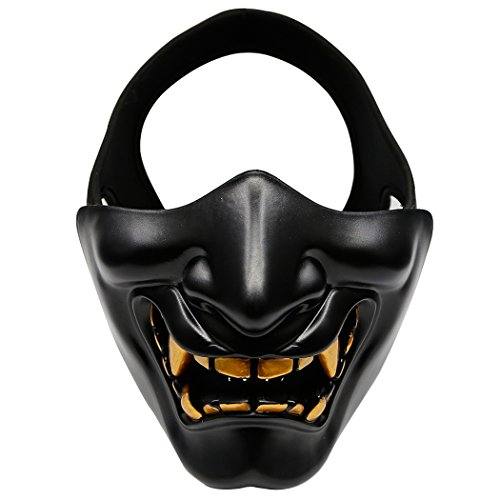 Half Face Airsoft Mask, Outgeek Tactical Paintball Mask Lowe