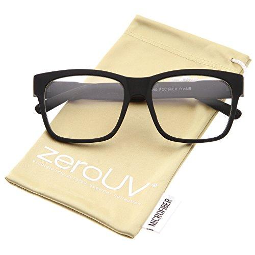 01 Eyeglasses Black Frame - 1