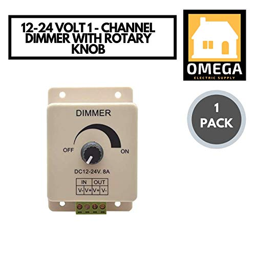 - Omega | 12-24 Volt, 10 Channel Dimmer with Rotary Knob 2A, 24 Watts