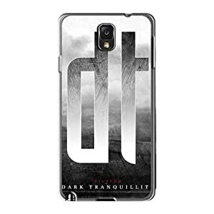 Excellent Hard Cell-phone Cases For Samsung Galaxy Note3 (GjH2010YLYi) Unique Design Colorful Dark Tranquility Band Series