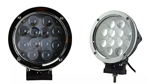 APHRODITE 2PCS 60W Black and White Color CREE LED Work Light 5100 Lumen Offroad JEEP Waterproof Lamp by Aphrodite