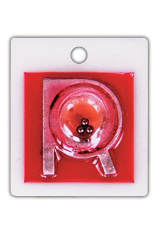 X-Ray Markers, Identifier Style - Positioning Beads, No Initials, RIGHT ONLY, R 7/8'', Vertical