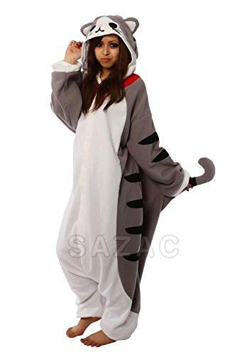 SAZAC Tabby Cat Kigurumi (Adults XL) -