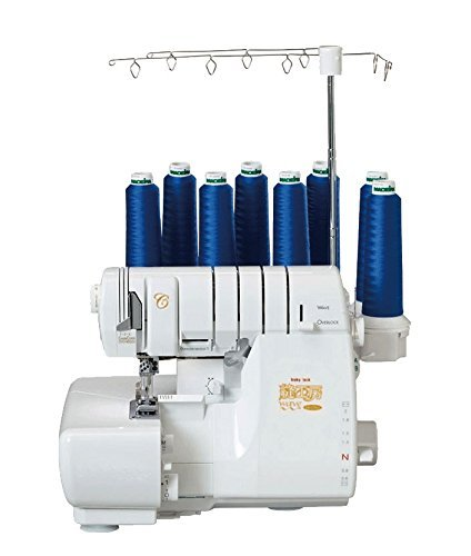 Babylock Cover & Over Wave Lock Stitch 8-thread Serger Machine (Japanese Model)
