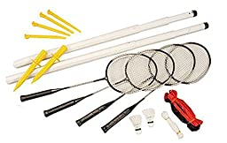 Coast Athletic Portable Badminton Set