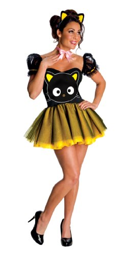 Secret Wishes  Hello Kitty Chococat, Black/Yellow, Medium -