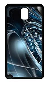 3D Abstract Hd Custom Designer For Iphone 5/5S Case Cover - Hard - Black
