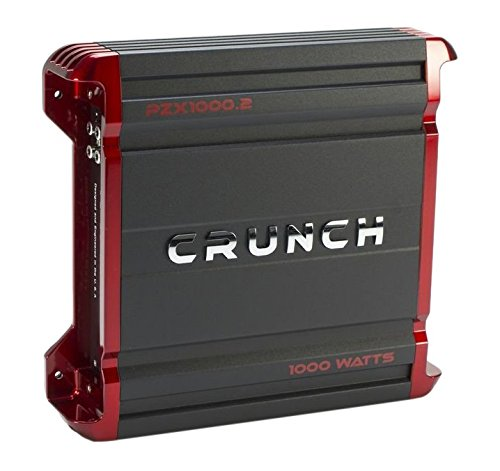 Crunch PX1000.2 Power Amplifier Class AB 2-Channels, 1000W