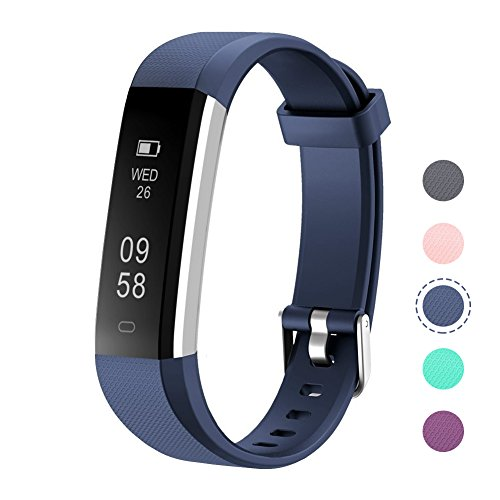 Activity Pedometer - LETSCOM Fitness Tracker, Activity Tracker, IP67 Water Resistant Smart Bracelet as Step Counter, Sleep Monitor, Pedometer, Calorie Counter Watch for Kids Women Men