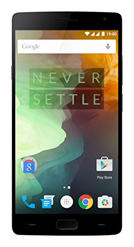 OnePlus 2 64GB, Black + SHARKK Flex 2o Bundle