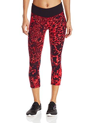 New Balance Women's Premium Performance Capri Print Pants, Dragonfly/Multi, X-Small
