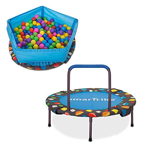 - smarTrike Activity Center, 3-in-1 Foldable Trampoline
