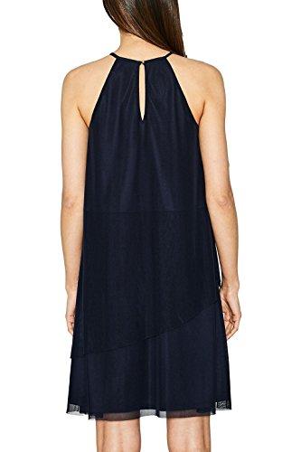 Blau Damen ESPRIT Collection 400 Kleid Navy qFwq0ng6