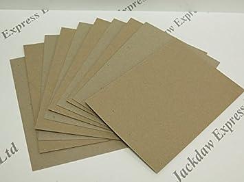 Amazon.com: JackDaw Express 40 x Tarjeta de Brown Kraft ...