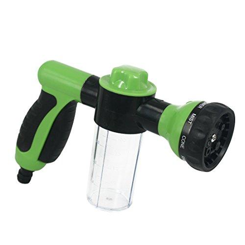 andux-land-8-in-1-water-shape-garden-hose-nozzle-sprayer-with-foam-clean-function-for-car-washing-gardening-pet-washing-pmsq-01-green