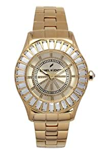 Daniel Hechter Women`s Champagne Dial Metal Band Watch [DHD 006S/1EM]
