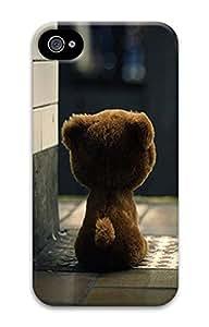 iPhone 4 4S Case Bear 3D Custom iPhone 4 4S Case Cover