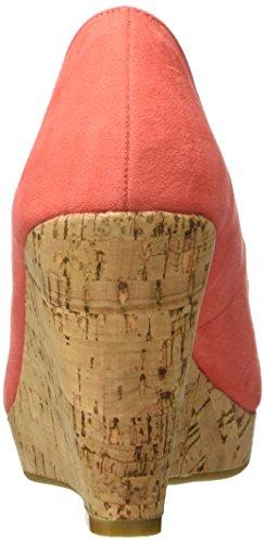 Another Pair of Shoes Wera K1 - Sandalias de Punta Descubierta para Mujer Rosa (Coral 35)