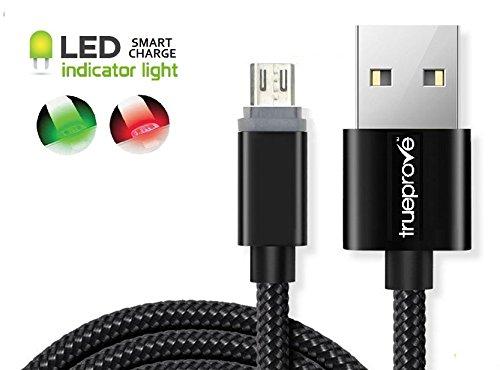 Nook Color Compatible LED Lit Charging Sync Data Cable & Pouch (Bundle) Lit Tip indicates