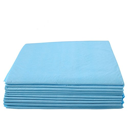 36' Disposable Underpads (100 Pcs Non Woven Fabric Puppy Pet Training Pad Dog Wee Pee Underpads Size 30'