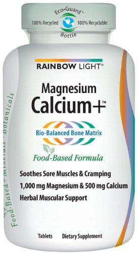 Rainbow Light, Calcium Magnésium Plus, 90-Count