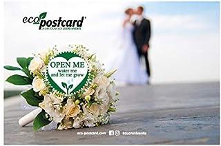 Eco-Postcard Auguri Matrimonio bouquet – Nontiscordardime