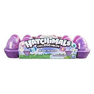Hatchimals CollEGGtibles 12Pack Egg Carton with Exclusive Season 4 Hatchimals CollEGGtibles, Ages 5 and Up (Styles and Colors May Vary)