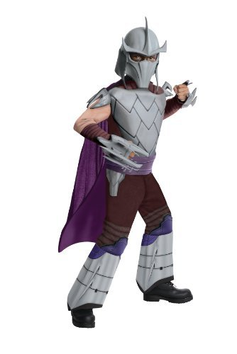Teenage Mutant Ninja Turtles Deluxe Shredder Costume, Large (Shredder Costume For Adults)