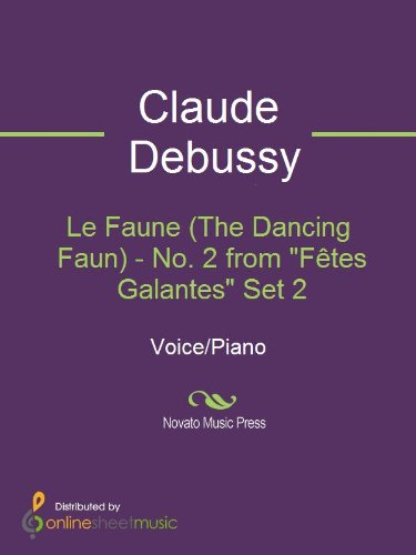 Le Faune (The Dancing Faun) - No. 2 from
