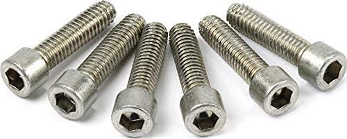 5//16-18 x 1.25 WARN 98280 Service Kit-Thread Cut Bolt 6 Pack Socket Head Cap Screw