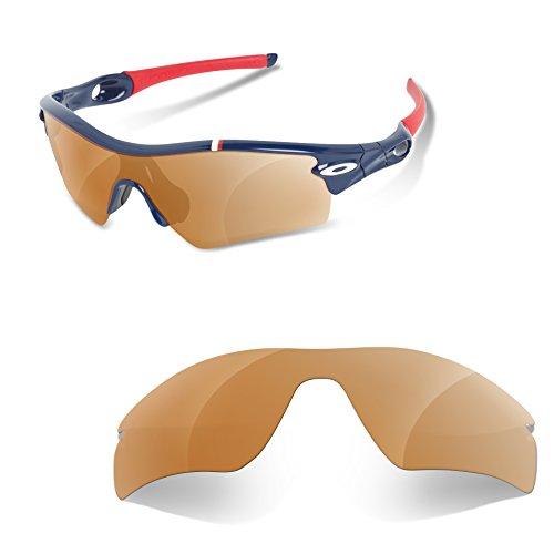 Sunglasses Restorer Lentes Para Oakley Radar Path (Cristales Polarizados Marron)
