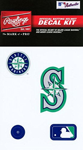 Rawlings Sporting Goods MLBDC Decal Kit, Seattle Mariners