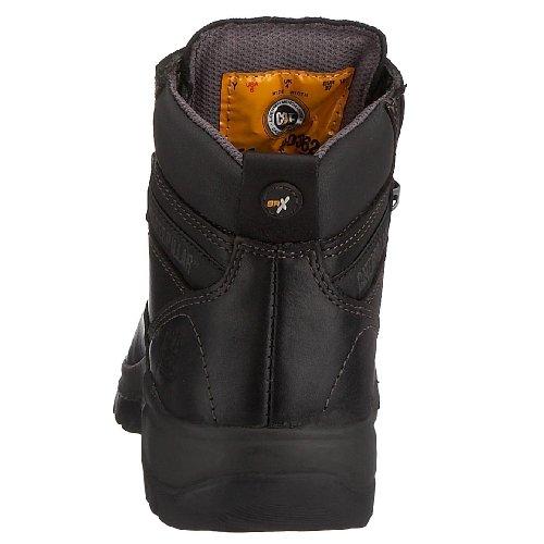 Cat Footwear Kitson PRO-30012 - Calzado de protección de cuero nobuck para mujer Negro