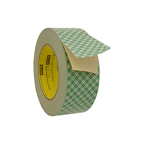 - 3M Scotch 410M Double Coated Paper Tape: 2 in. x 36 yds. (Off-White)