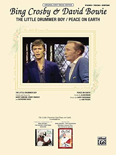 The Little Drummer Boy / Peace on Earth: Piano/Vocal/Chords, Sheet (Original Sheet Music Edition) (Peace On Earth Little Drummer Boy Sheet Music)