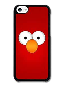 AMAF ? Accessories Elmo Muppet Red Face and Orange Nose Minimal Poster TV Show case for iphone 5s