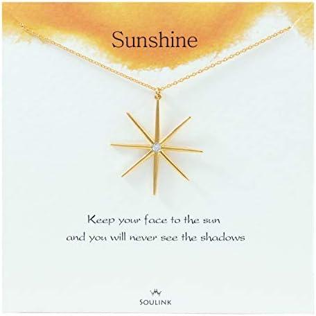 Soulink Sparkling Sunshine Necklace Jewely product image