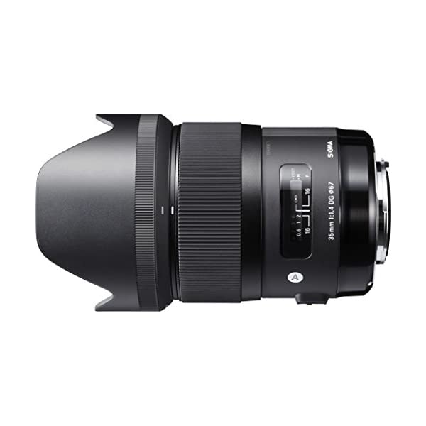 RetinaPix Sigma 35mm F/1.4 DG HSM Art Lens for Canon DSLR Cameras (340101)