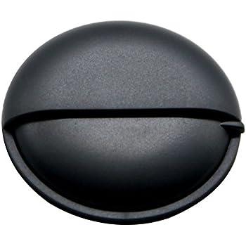 b52adabc8808f PuTwo Pill Organizer for Purse, Small Travel Pill Case, Round Metal Pill Box -Black