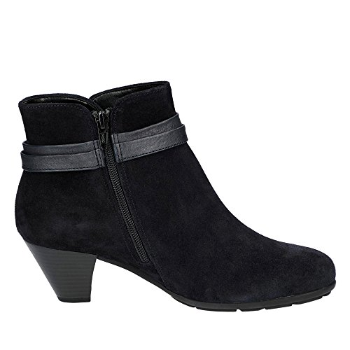 TIFFEY GABOR ANKLE BOOT Navy