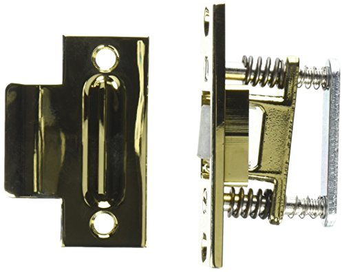 Baldwin 0432003 Roller Latch, Lifetime Brass